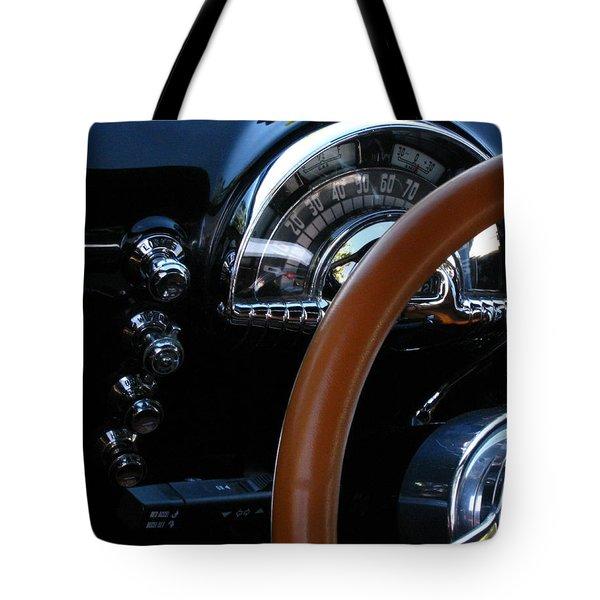 Oldsmobile 88 Dashboard Tote Bag by Peter Piatt