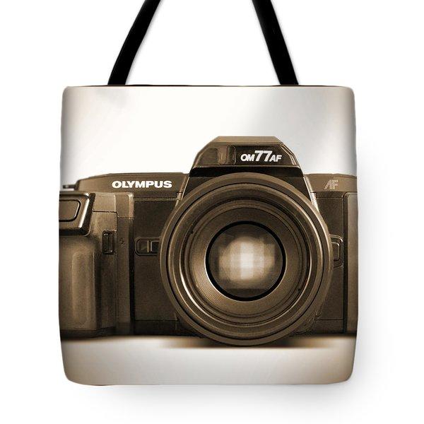 Olympus OM77AF Tote Bag by Mike McGlothlen