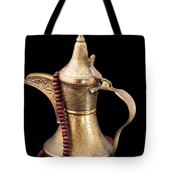 Omani Coffee Tote Bag by Tom Gowanlock