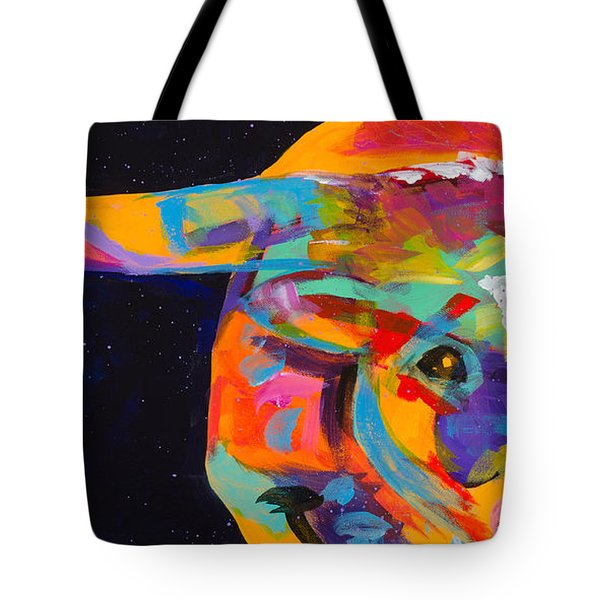 On the Move Tote Bag by Tracy Miller