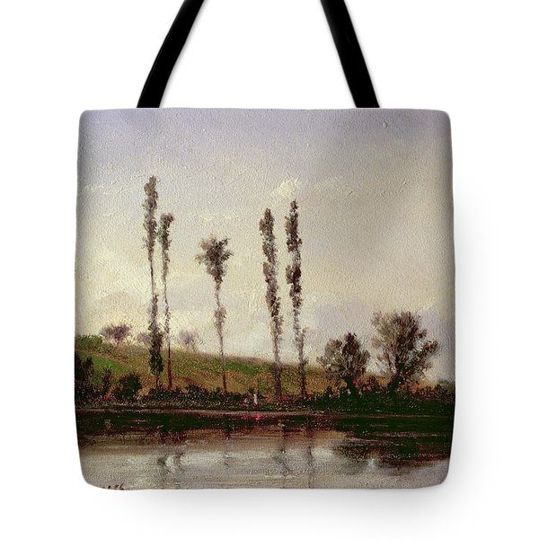 On The Outskirts Of Paris Tote Bag by Camille Pissarro