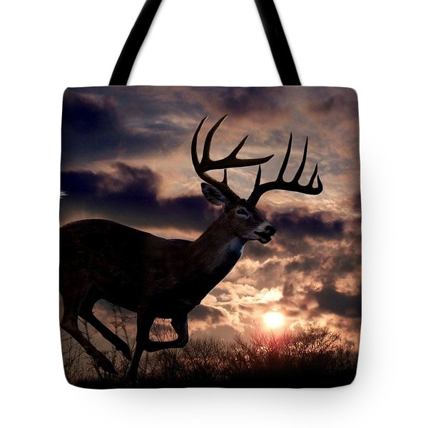 On The Run Tote Bag by Bill Stephens
