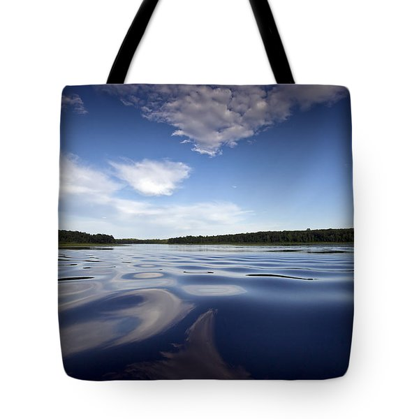 On The Water Tote Bag by Gary Eason