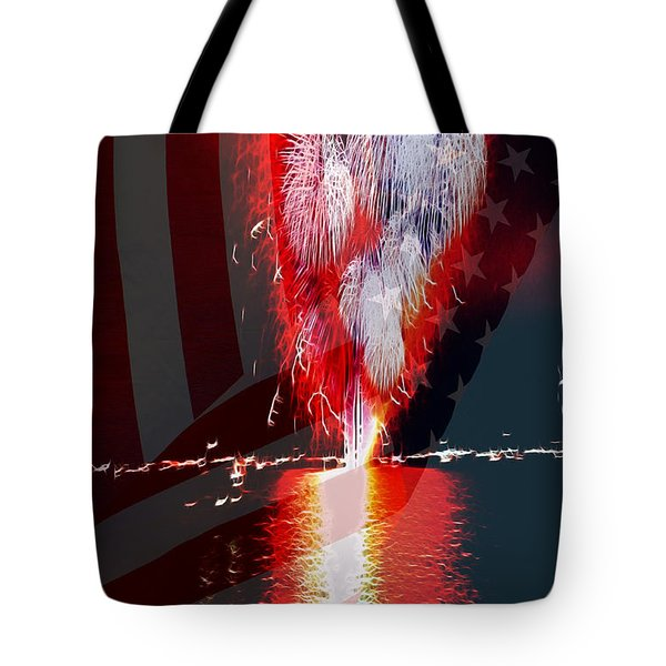One Big Bang Tote Bag by Cheryl Young