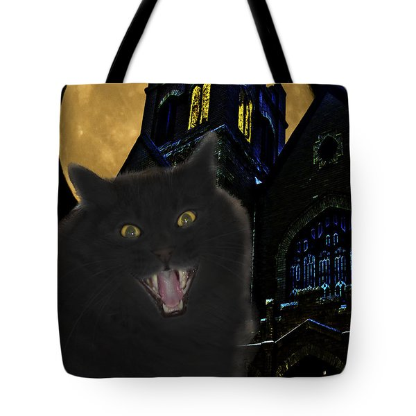 One Dark Halloween Night Tote Bag by Shane Bechler