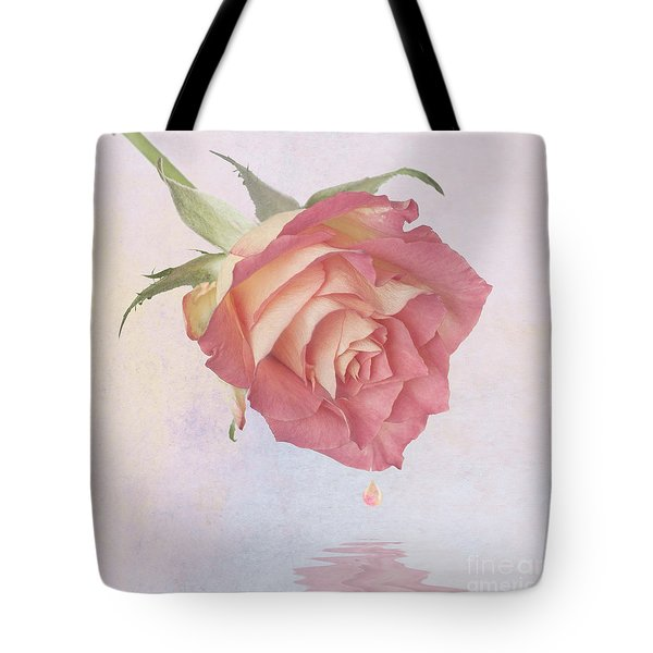 One Drop Of Love Tote Bag by John Edwards