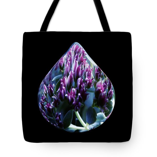 One Drop Of Water Tote Bag by Barbara St Jean
