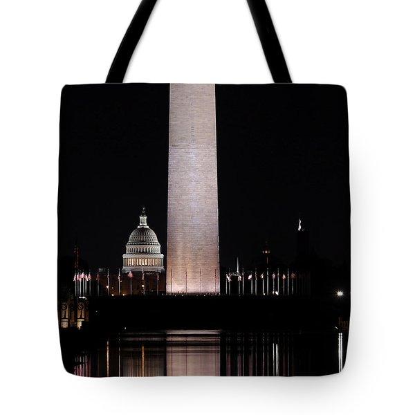 One Nation Tote Bag by Kim Hojnacki