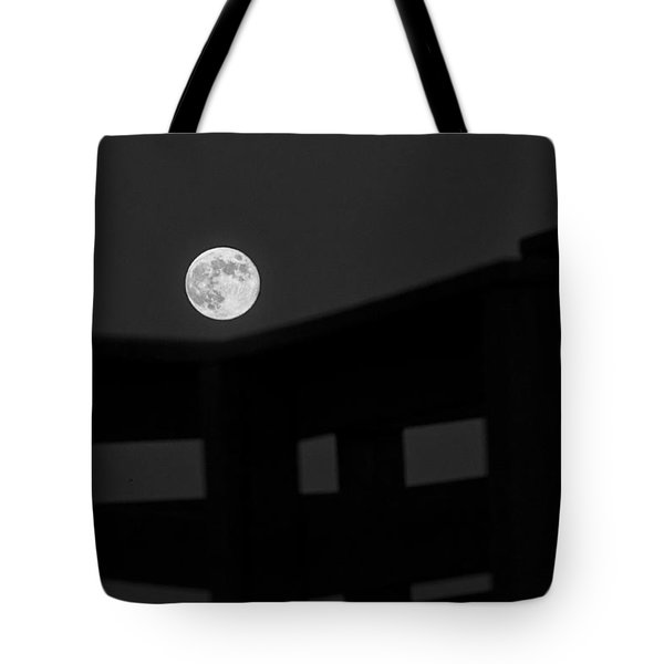 One Small Step For A Man Tote Bag by Melany Sarafis