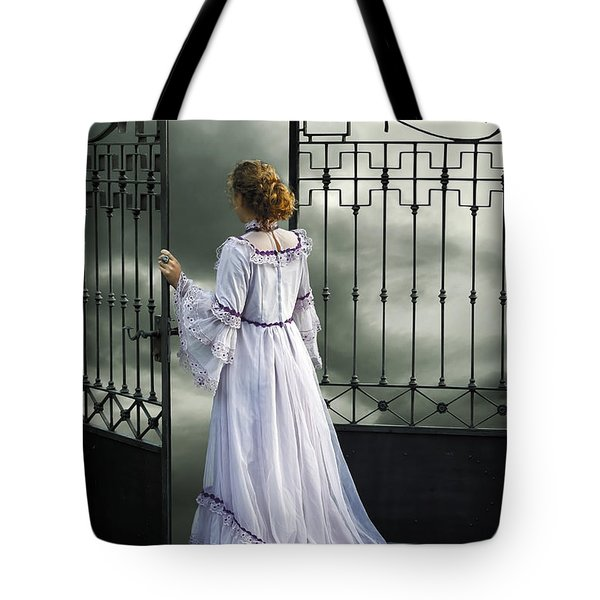 open gate Tote Bag by Joana Kruse