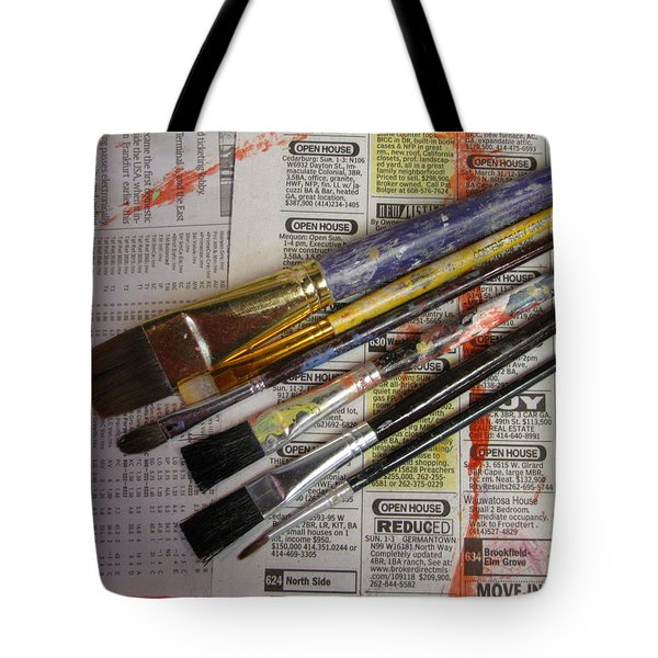 Open House Reduced Tote Bag by Anita Burgermeister
