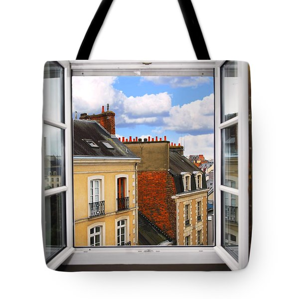 Open window Tote Bag by Elena Elisseeva