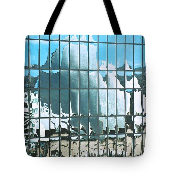 Opera House Reflection Tote Bag by Bob and Nancy Kendrick
