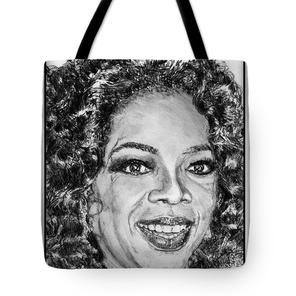 Oprah Winfrey In 2007 Tote Bag by J McCombie