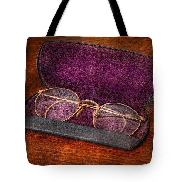 Optometry - Has anyone seen my glasses  Tote Bag by Mike Savad