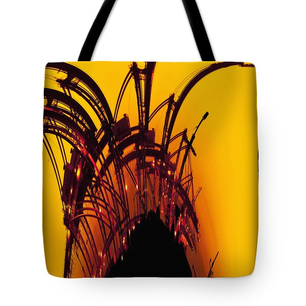 Orange and Yellow Tote Bag by Skip Nall
