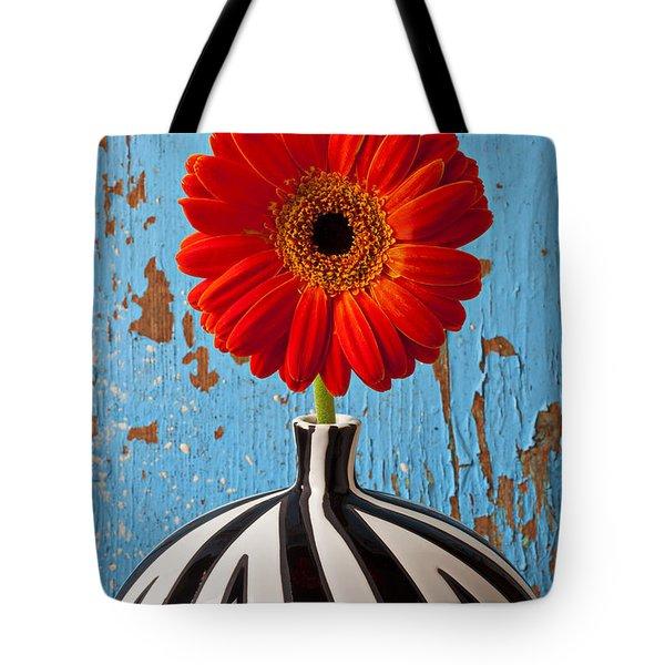 Orange Gerbera Mum Tote Bag by Garry Gay