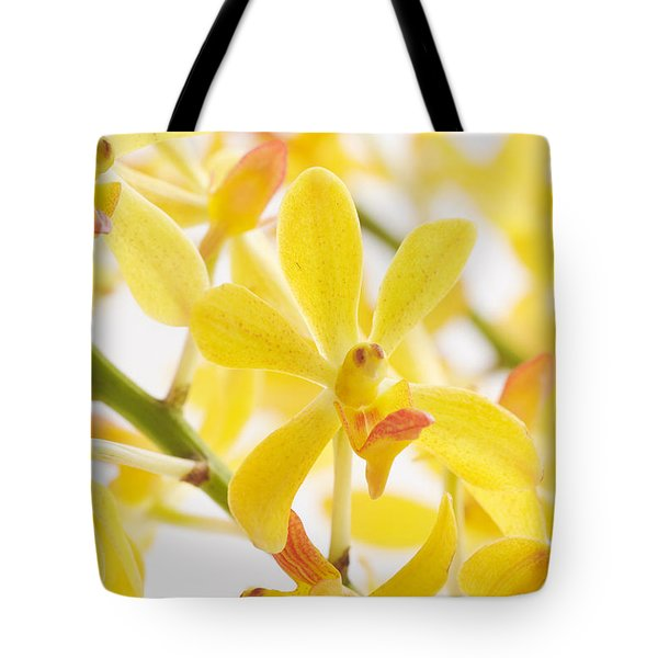 orchid bunch Tote Bag by ATIKETTA SANGASAENG