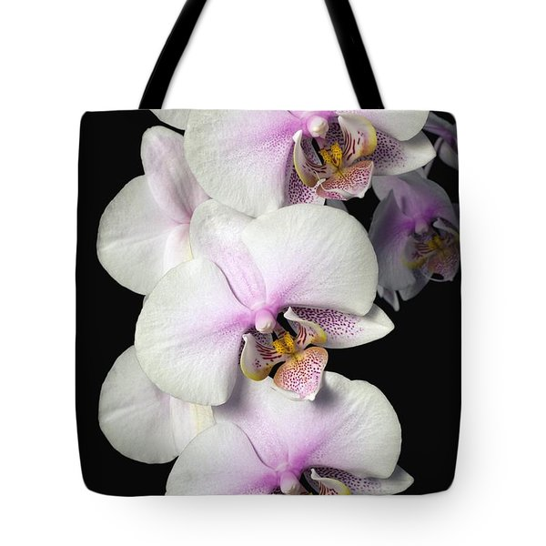 Orchids Tote Bag by David Chapman