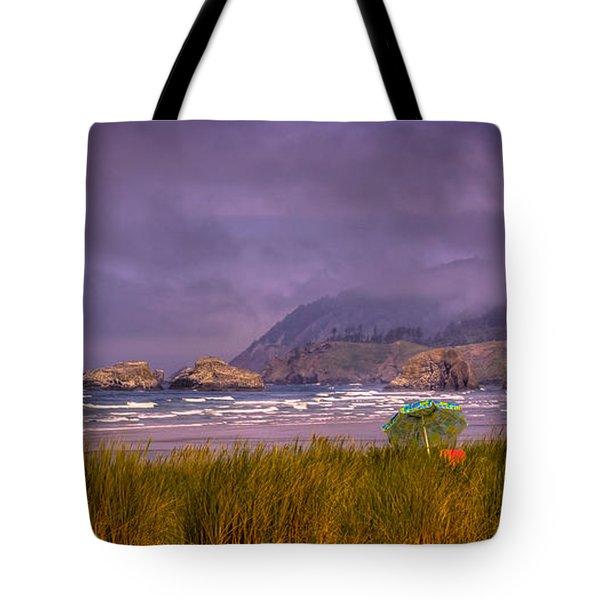 Oregon Seascape Tote Bag by David Patterson