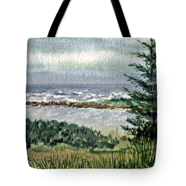Oregon Shore Tote Bag by Irina Sztukowski