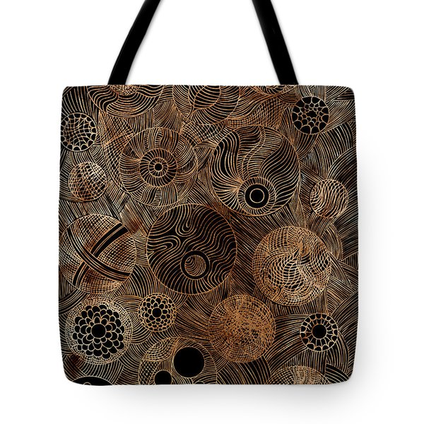 Organic Forms Tote Bag by Frank Tschakert