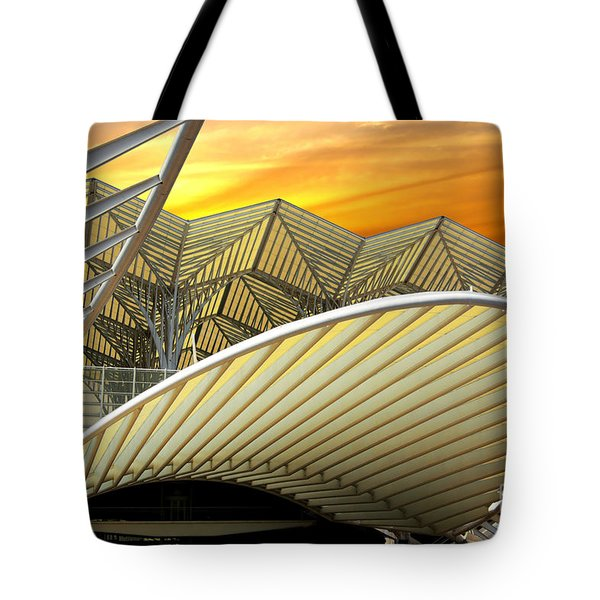 Oriente Station Tote Bag by Carlos Caetano