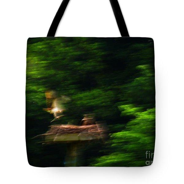Osprey Motion Tote Bag by Rrrose Pix