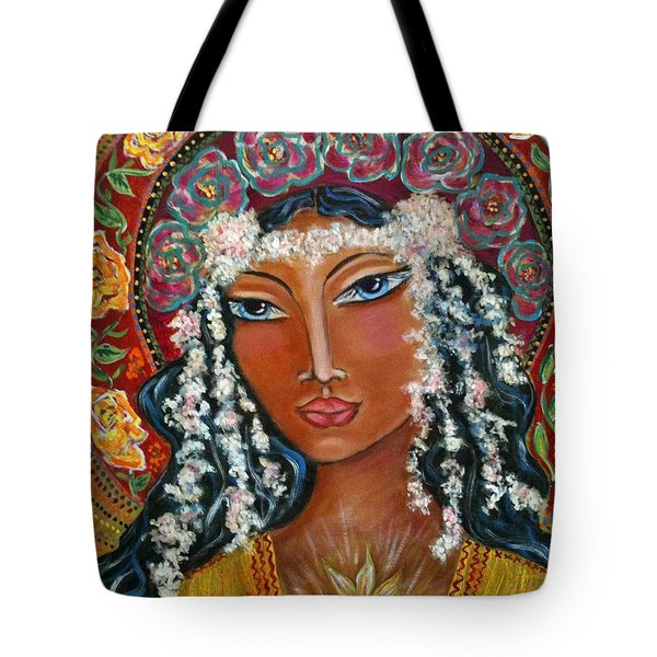 Our Lady Of Lost Causes Tote Bag by Maya Telford