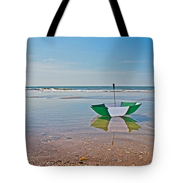 Out for a Stroll Tote Bag by Betsy C  Knapp