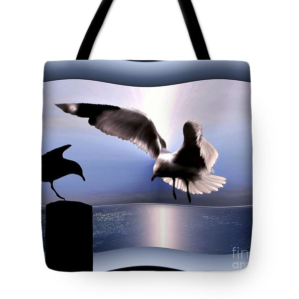 Out Of Bounds Tote Bag by Dale   Ford