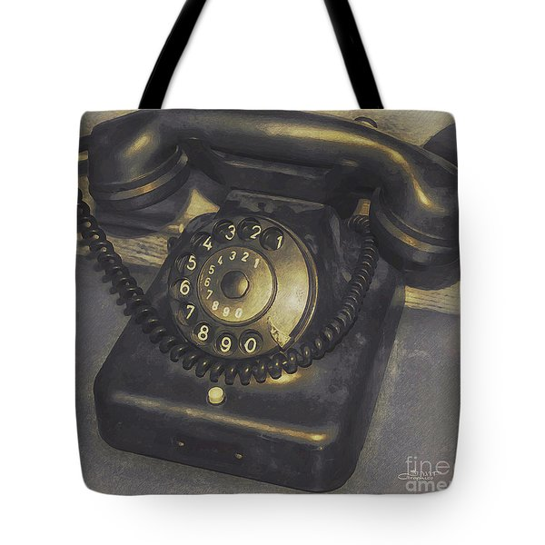 Out of Service Tote Bag by Jutta Maria Pusl