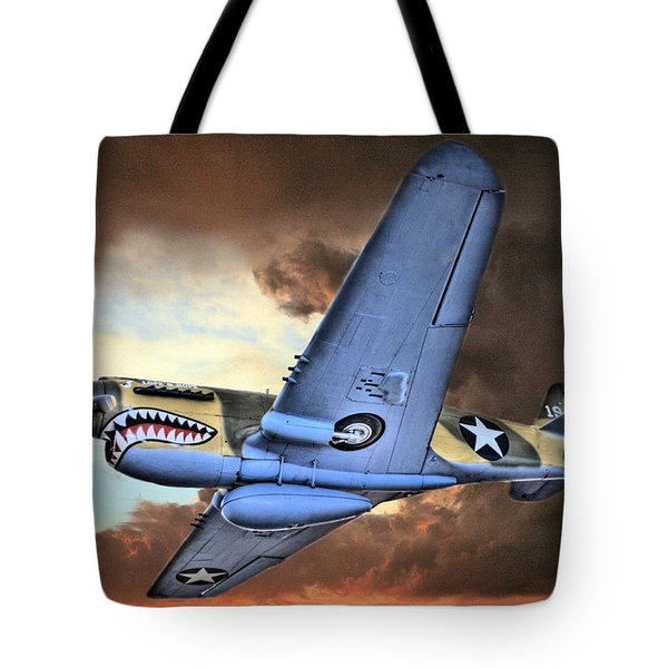 Out Of The Storm Tote Bag by JC Findley