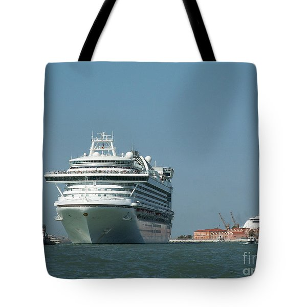 Out To Sea Tote Bag by Evgeny Pisarev