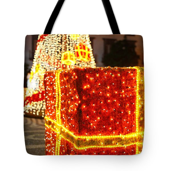 Outdoor Christmas Decorations Tote Bag by Gaspar Avila