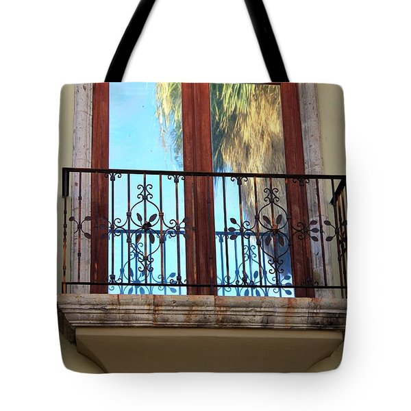 Outer Reflection Tote Bag by Leigh Meredith