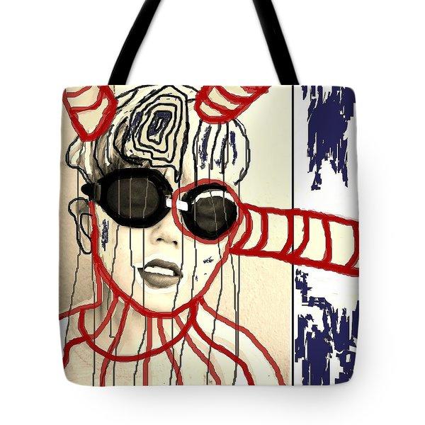 Outflow Tote Bag by Franziska Kolbe