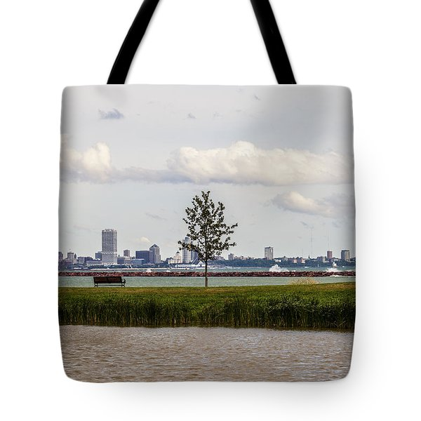 Outside Of The Inside Tote Bag by CJ Schmit