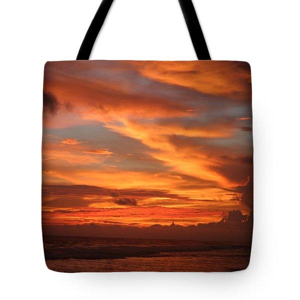 Pacific Sunset Costa Rica Tote Bag by Michelle Wiarda