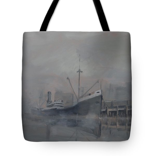 Pacific Trader Tote Bag by Christopher Jenkins