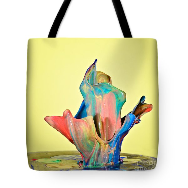 Paint Art Tote Bag by Susan Candelario
