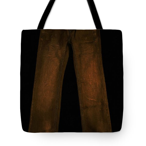 Pair of Jeans 3 - Painterly Tote Bag by Wingsdomain Art and Photography