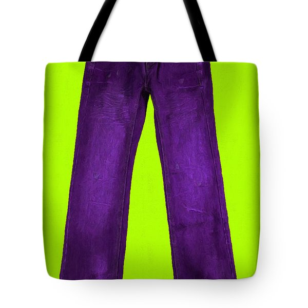 Pair of Jeans 5 - Painterly Tote Bag by Wingsdomain Art and Photography