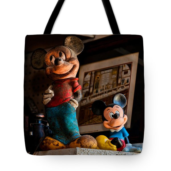 Pair Of Mickies Tote Bag by Christopher Holmes