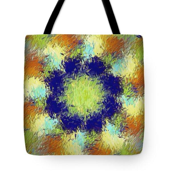 Pallet Of Colors Tote Bag by Deborah Benoit
