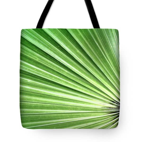 Palm leaf Tote Bag by Rudy Umans