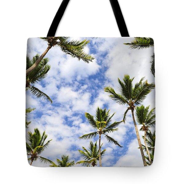 Palm Trees Tote Bag by Elena Elisseeva