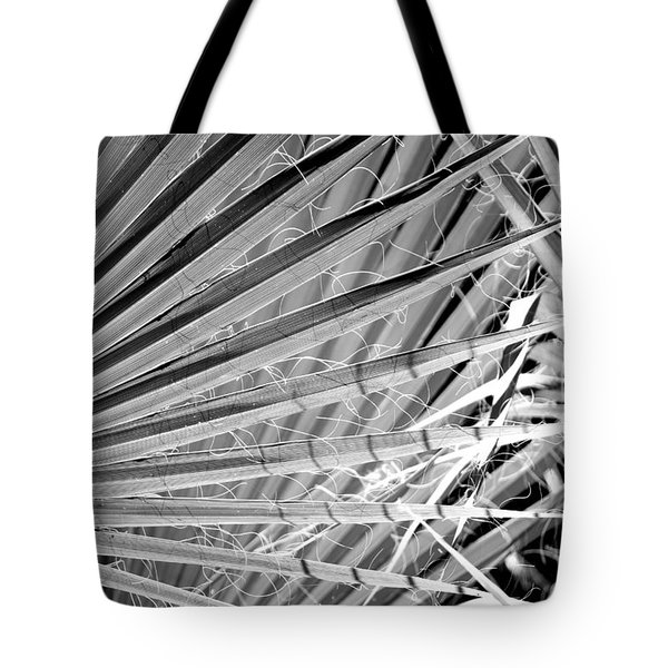 Palm Veils Tote Bag by Leigh Meredith