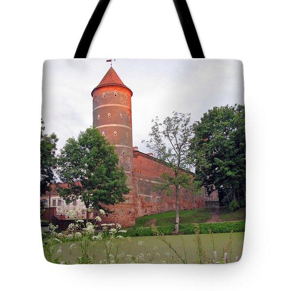 Panemunes Castle. Lithuania. Tote Bag by Ausra Huntington nee Paulauskaite