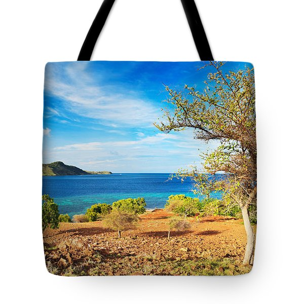 Panorama Island Tote Bag by MotHaiBaPhoto Prints